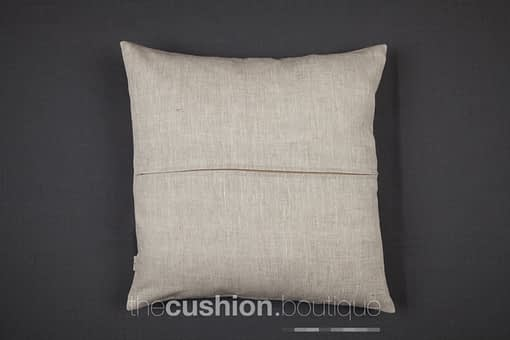 Natural linen cushion back